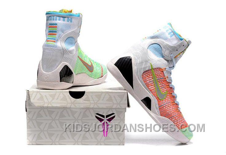 http://www.kidsjordanshoes.com/nike-kobe-9-high-woven-rainbow-white-men-shoes-best-s4p7wt.html NIKE KOBE 9 HIGH WOVEN RAINBOW WHITE MEN SHOES BEST S4P7WT Only $119.88 , Free Shipping!