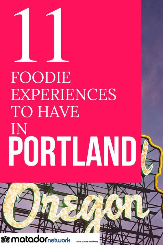 Love food and going to Portland Oregon? Well here's 11 foodie experience you've got to have when you go to Portland. Make sure to add some of these places to your travel itinerary.