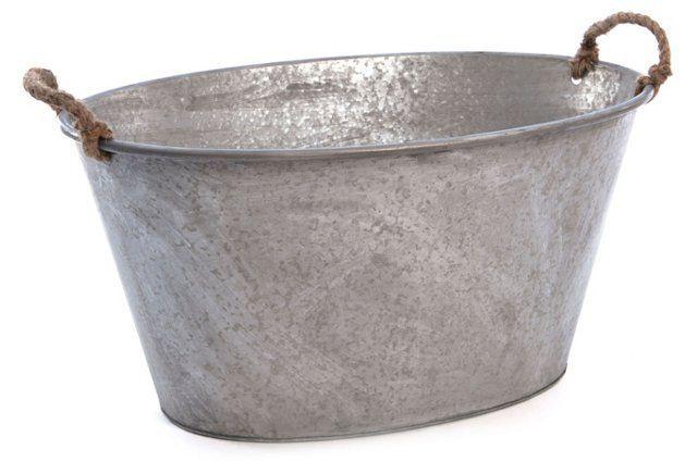 Galvanized Tin Tub