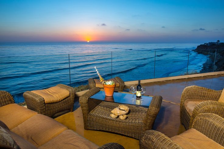 Gorgeous views from balconies in Solana Beach
