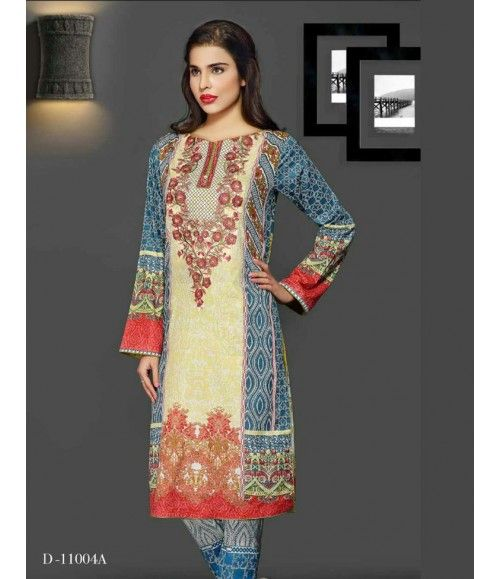 Rangrasiya Embroidered Lawn Collection 2016 D-11004A
