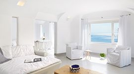 Nestled in the cosmopolitan Mykonos island are the island bungalows and private villas of Mykonos Blu luxury hotel. Book online and plan the perfect vacation!