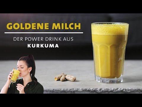 Das neue Wundermittel: Goldene Milch – Kurkuma Power Drink – Stärkt dein Immunsystem und hält gesund – Gesunde getränke