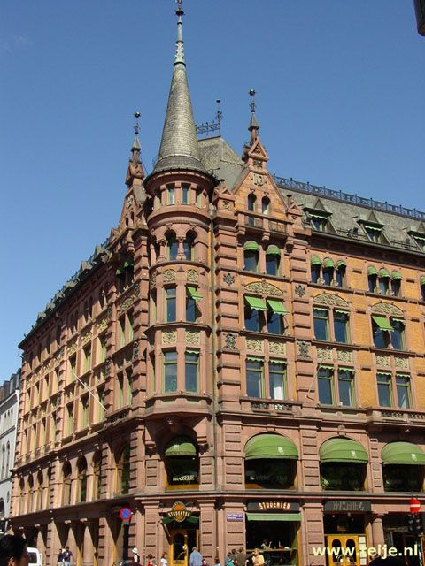 Beautiful building in Oslo, Norway