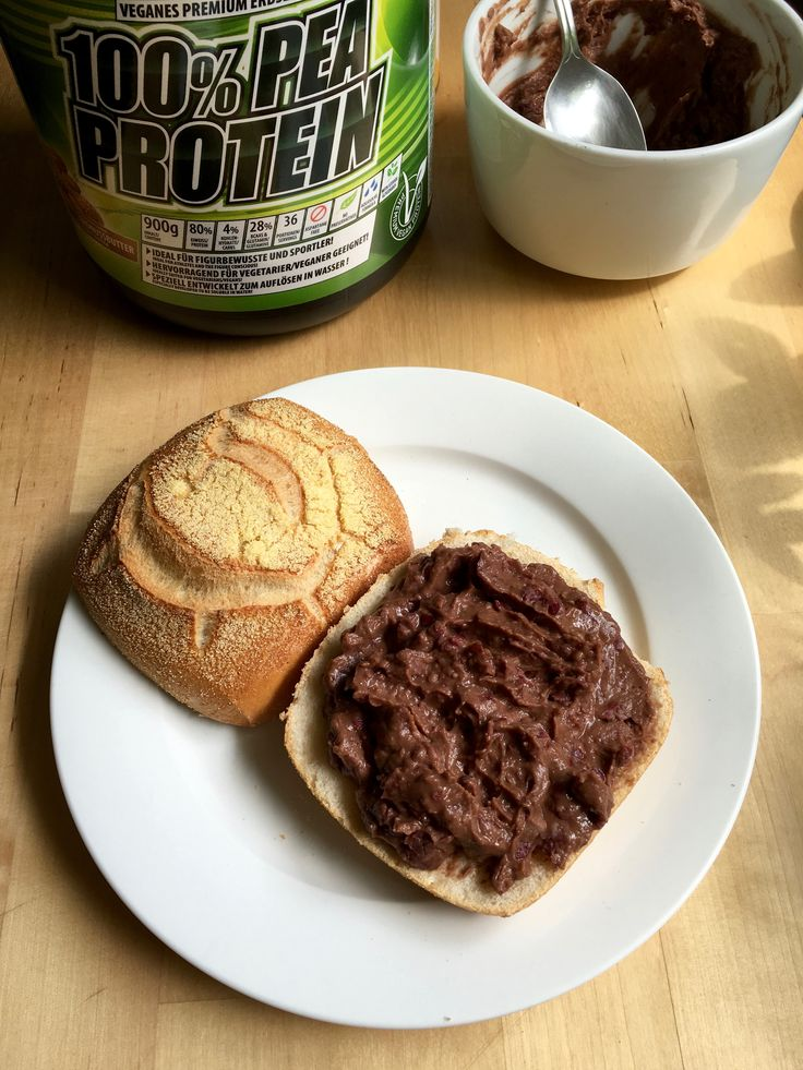 Homemade High Protein, High Fiber Chocolate-Peanutbutter Spread.