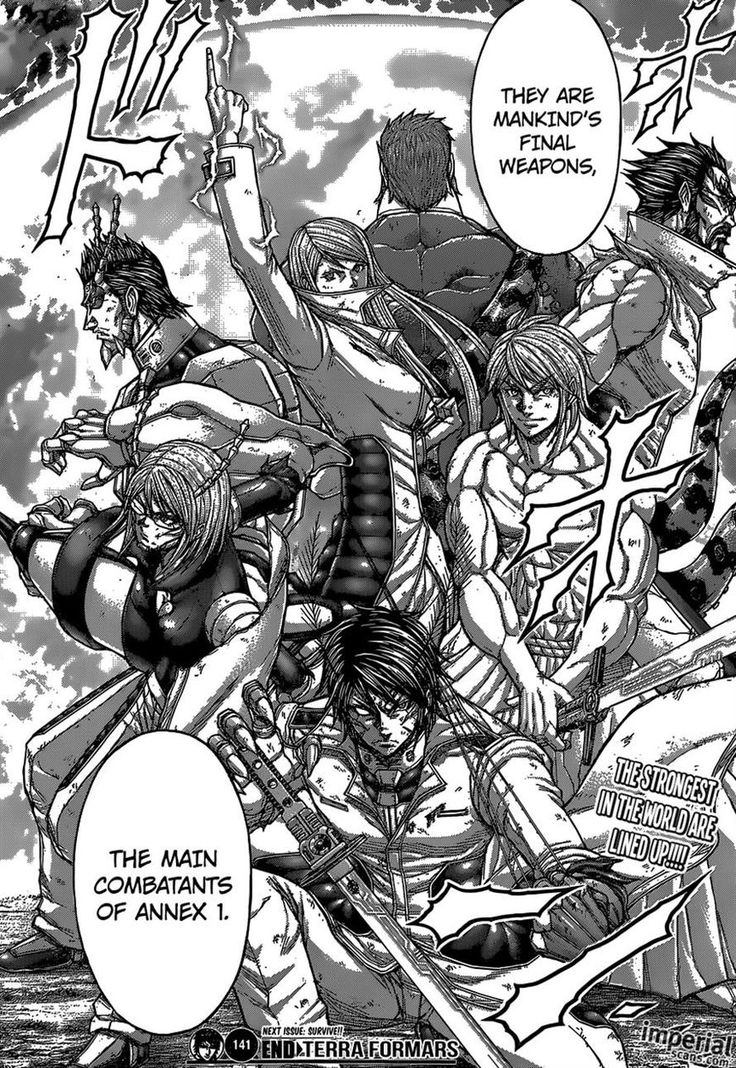 Terra Formars 141 Page 16