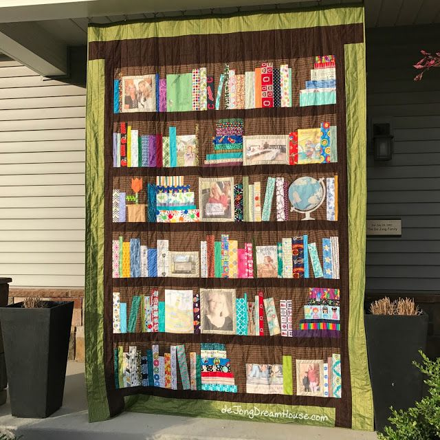 de Jong Dream House: Quilt #81: Mrs. Gentry's Library