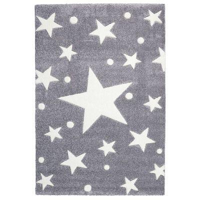 Stars Grey Rug