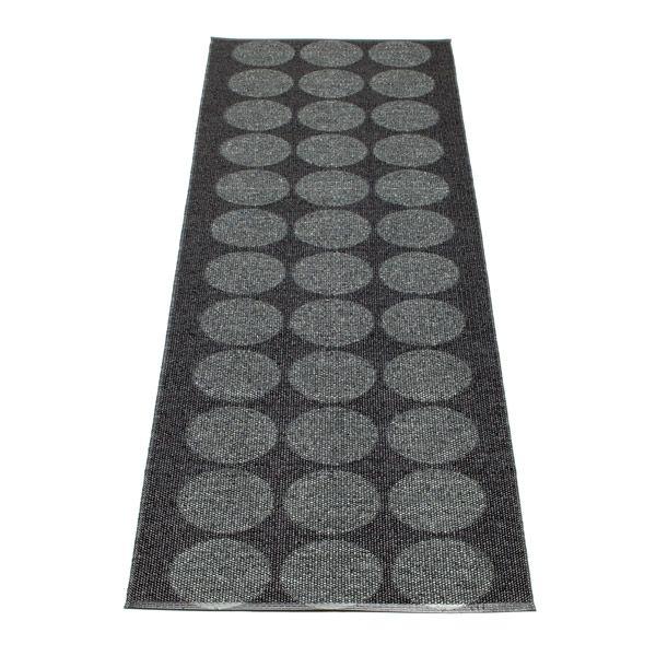 Pappelina løber - Hugo - Metallic black, 70x160cm, 875kr