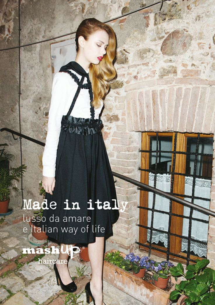 Mashup Haircare e Made in italy: lusso da amare e Italian way of life.