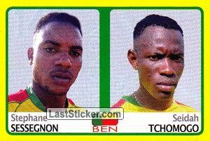 Stephane Sessegnon/Seidah Tchmogo (Benin)