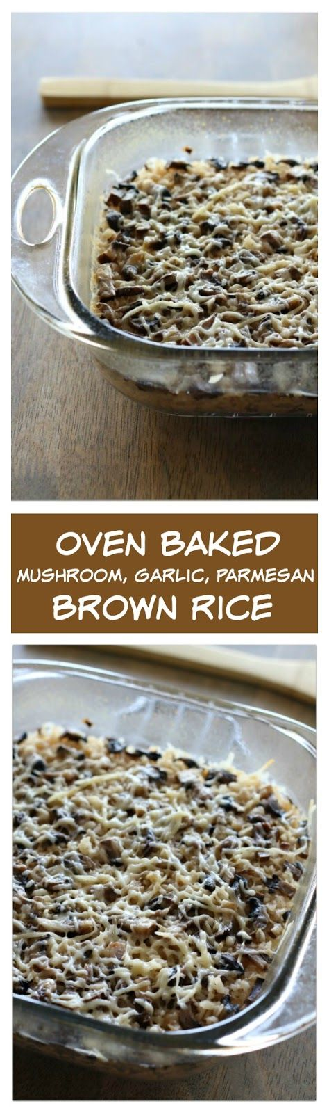 I'm just super pumped about this brown rice that you can make in the oven! I had…