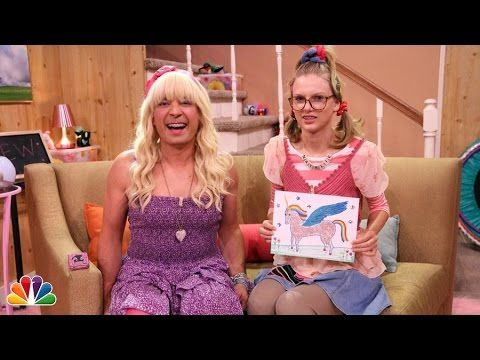 "Jimmy shows a clip from the Teen Nick show ""Ew!"" in which Sara and her friend Natalie play show and tell. Subscribe NOW to The Tonight Show Starring Jimmy Fa..."