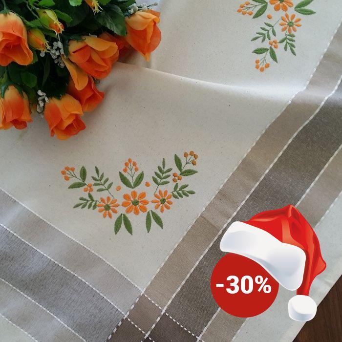 Față de masă Valentini Bianco WKY17 Grey