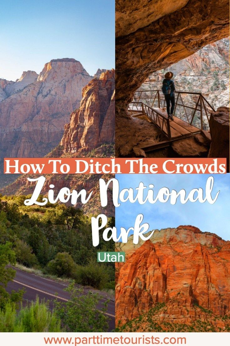 How To Ditch the Crowds at Zion National Park –