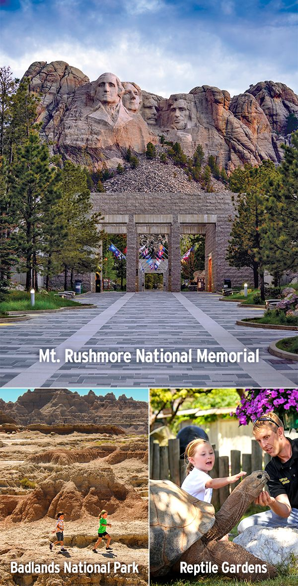 From the world's largest collection of reptiles to the famous faces of Mount Rushmore, these ideas are kid tested and mother approved!