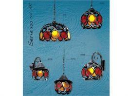 Lampadari in ferro battuto collezione Lux800