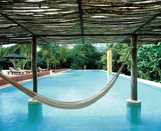 I'll have a pool under my hammock, thanks