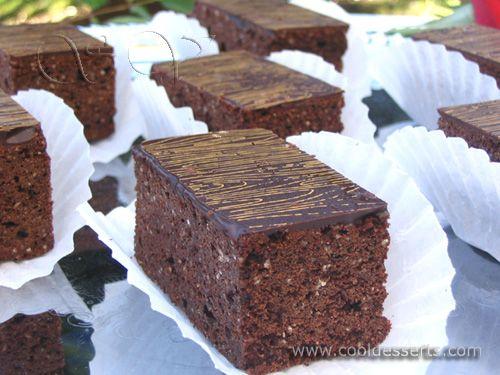 """""""Шоколадно - миндальные пирожные"""" (Chocolate Almond Cakes)"""