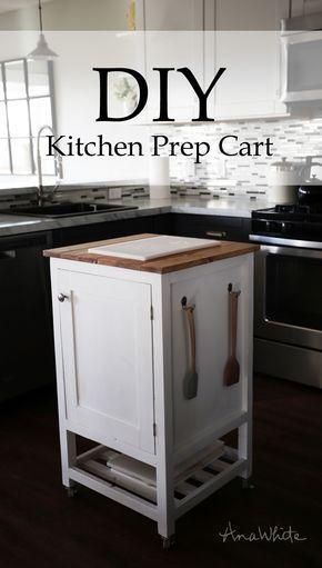 Best 25 Small Kitchen Cart Ideas On Pinterest Kitchen