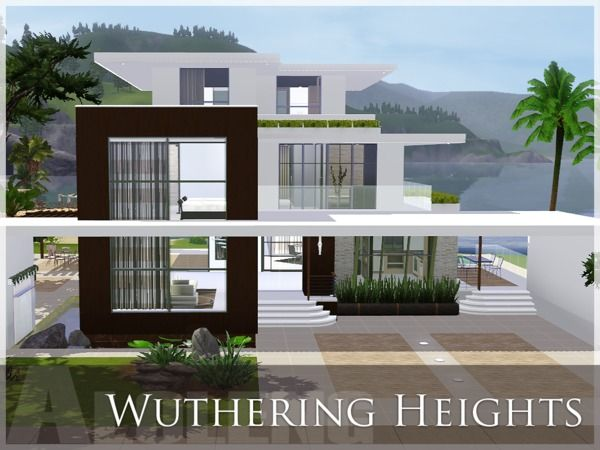 Wuthering Heightslarge Modern Home By Aloleng   Sims 3 Downloads CC Caboodle