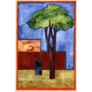 "Barcelona Art Market ""No title""  Technique: WATERCOLOR on paper Artist: RAMÓN HERREROS Size: paper 38,5 x 29 cm - 15.2 x 11.4 inches / painting: 26 x 19 cm - 10.2 x 7.5 inches #painting"