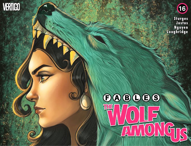 Fables The Wolf Among Us Chapter 16, August 2015, Pencils: Chrissie Zullo