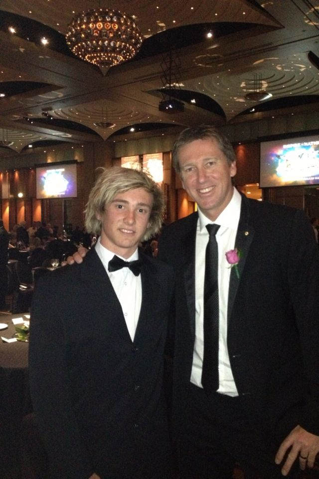 Glenn McGrath was inducted into the Sport Australia Hall of Fame in 2011. Known throughout his career for maintaining a remarkably accurate line and length, McGrath's consistency enabled him to be one of the most economical and dangerous fast bowlers of his time. McGrath holds the world record for the highest number of Test wickets by a fast bowler and is fourth on the all-time list, with the top three wicket takers Muttiah Muralitharan, Shane Warne, and Anil Kumble all being spin bowlers.