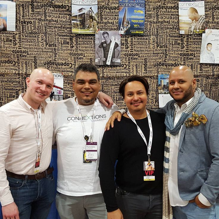 """""""@TheLGBTexpo in #NYC #Travel some of the @ConnextionsMag Team! Thanks you for being so amazing!  #theLGBTExpo #GayExpo #GayCruise #Destination #LGBT #GLBT…"""""""