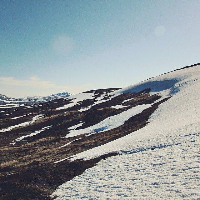 """@benedickte's photo: """"Winter, meet Summer. #acrossnorway14 www.acrossnorway.com"""""""