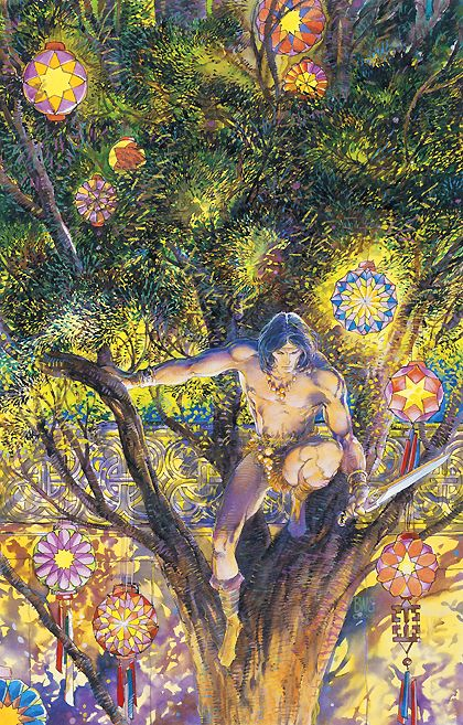Conan Saga #6  Art by: Barry Windsor-Smith