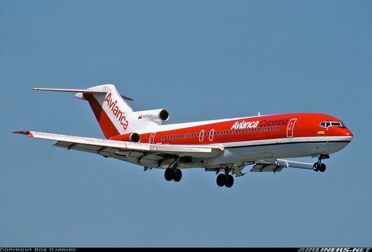 Avianca  Boeing 727-259/Adv.  Muchas veces viajamos en éstos aviones de Avianca