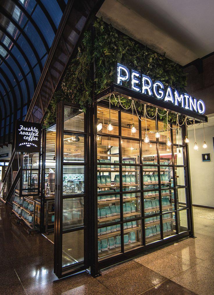 Pergamino. on Behance  #Design #Lamps #lightingdesign #Coffee #airport