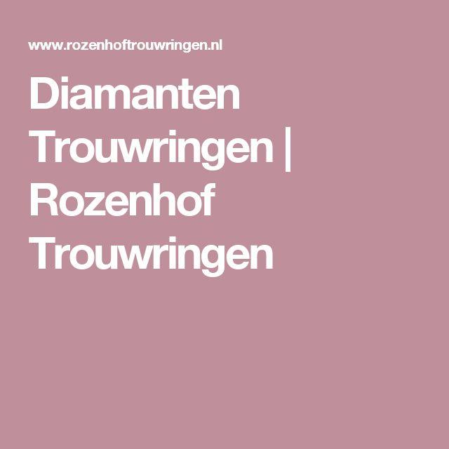 Diamanten Trouwringen | Rozenhof Trouwringen