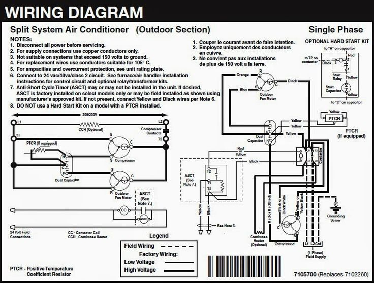 Electrical Wiring Diagrams For Air Conditioning Systems Part Two Electrical Knowhow Electrical Wiring Diagrams For Air Conditioning Systems Part Two El