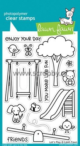 Lawn Fawn Let's Play Stamp | €13.13