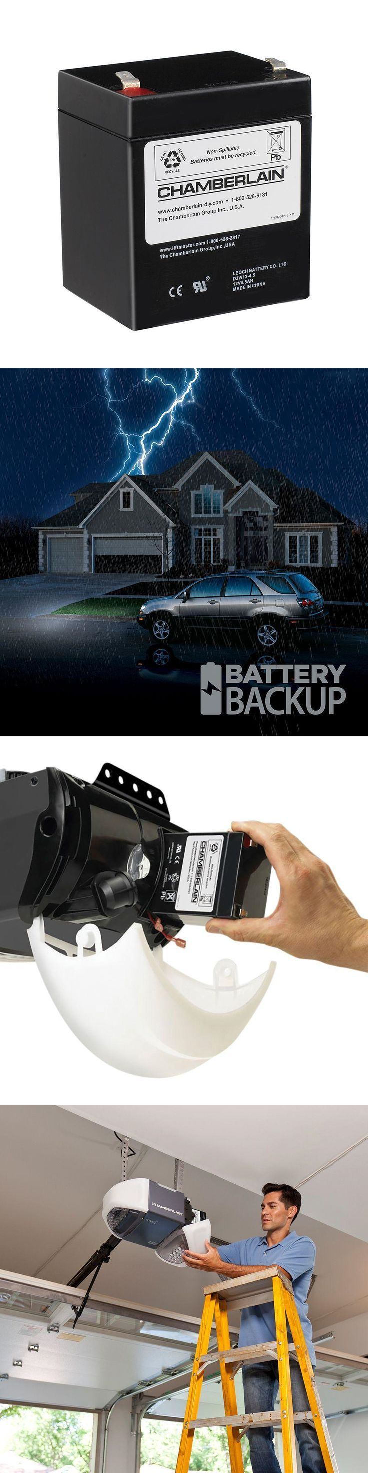 Opener Parts and Accessories 179688: Chamberlain Garage Door Opener Battery Replacement Rechargeable Backup Back-Up -> BUY IT NOW ONLY: $33.03 on eBay!