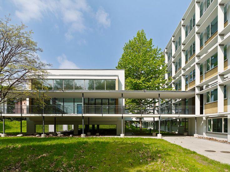 Senckenberg Forschungszentrum BiK-F Frankfurt am Main | Architektur SSP AG | Photo: Jörg Hempel Photodesign