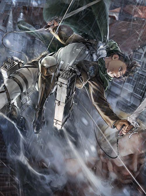 Levi | Shingeki no Kyojin (Attack on Titan) #anime