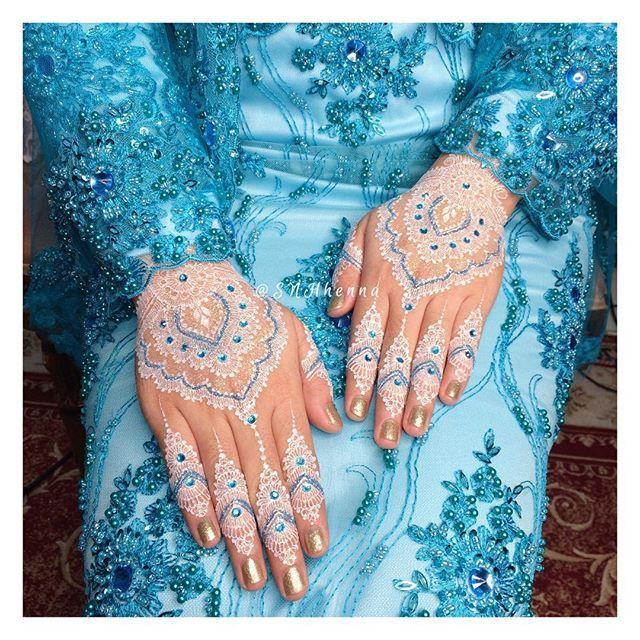 White Henna Wedding Kk Cantik Nan Baik Hatiii Gitalidia White
