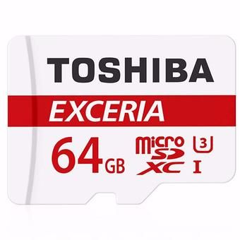 Buy Toshiba THN-M301R0640C4 Exceria 64GB Micro SDXC Card online at Lazada. Discount prices and promotional sale on all. Free Shipping.