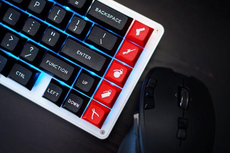 5 additional macro keys #keycap