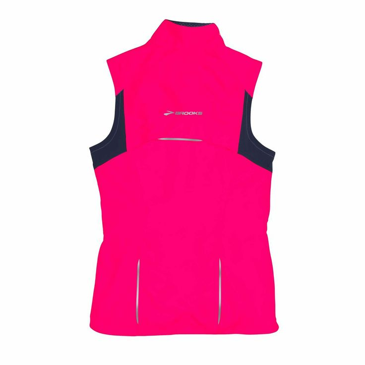 Nighttime running vest for women: Brooks Essential Run Vest II