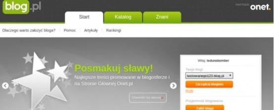 Onet od zawsze był aktywny na rynku blogów internetowych. Ostatnie zmiany tylko potwierdzają, że internetowy gigant nadal ceni tę formę aktywności użytkowników i wzrokiem sięga w daleką przyszłość. http://www.spidersweb.pl/2013/04/blogi-onetu-na-wordpressie.html