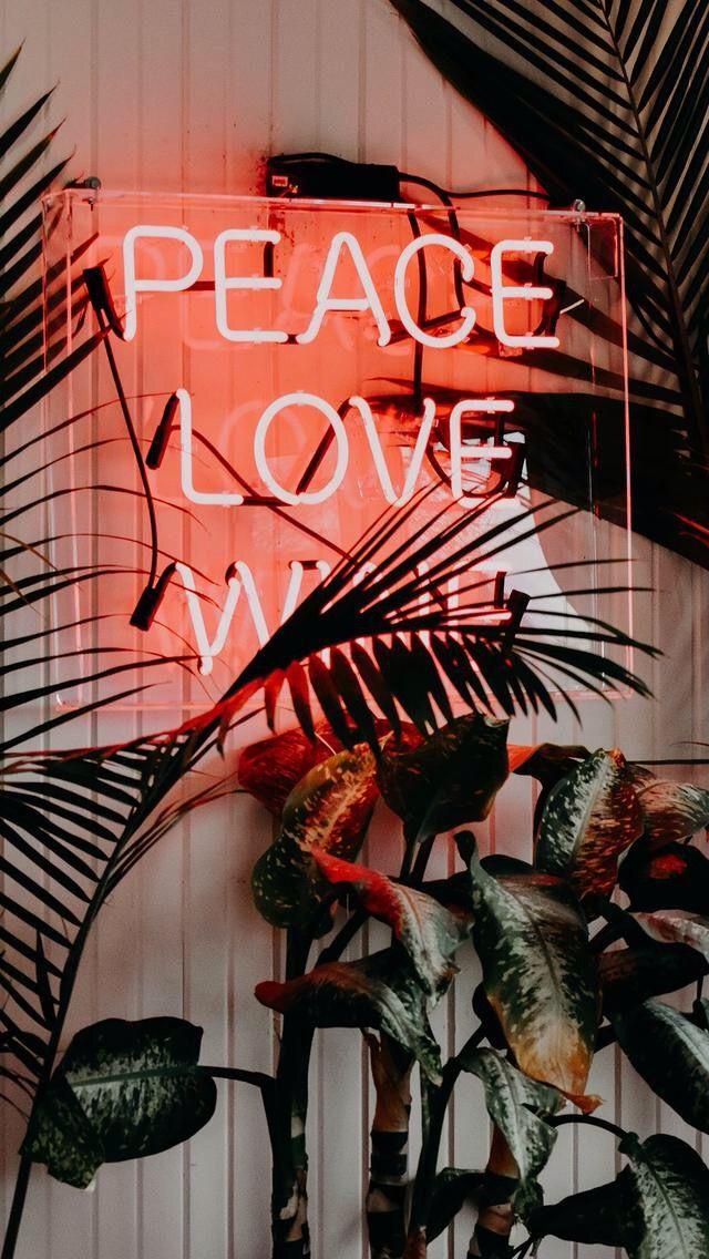 Peace. Love. Wine