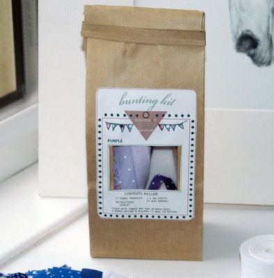 Make your own #diamondjubilee bunting with this kit from @julieisfab
