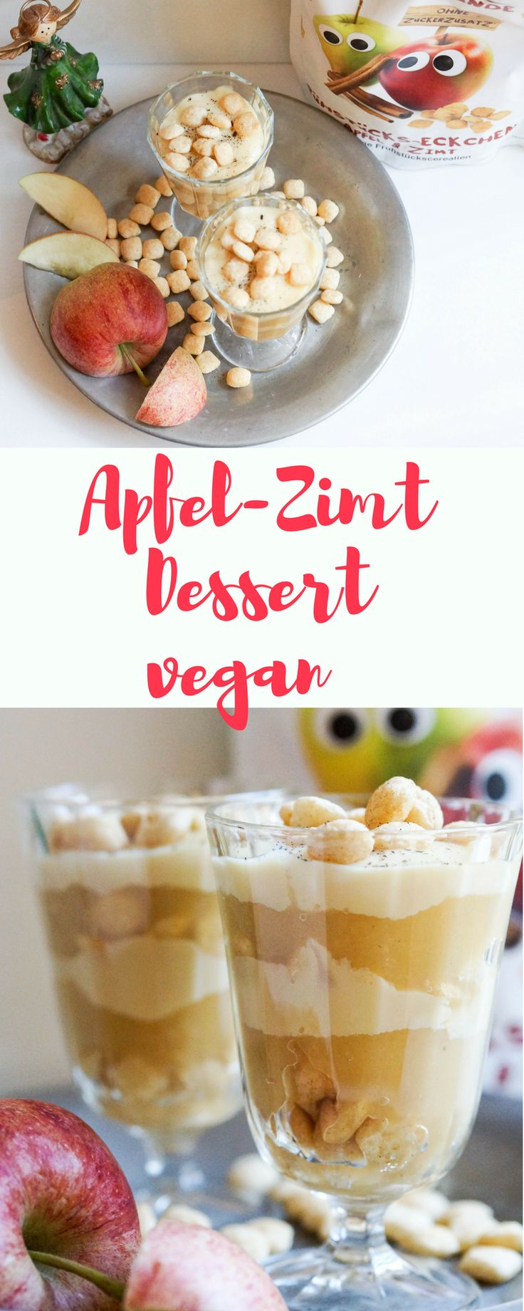 Ein leckeres veganes Rezept für Groß und Klein!  #werbung #dessert #Weihnachten #RezeptefürKinder #Kinder #Food #rezept #vegan