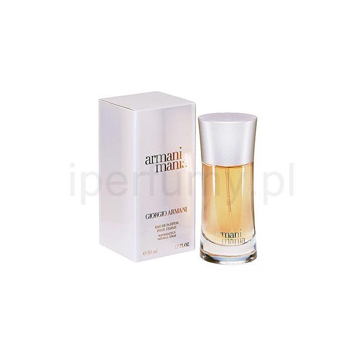 [2014] Armani Mania for Woman, woda perfumowana dla kobiet (200/50ml) G:mandarynka, porzeczki, wawrzyn (laur) S:piwonia, konwalia, magnolia P:cedr, ambra, drzewo sandałowe