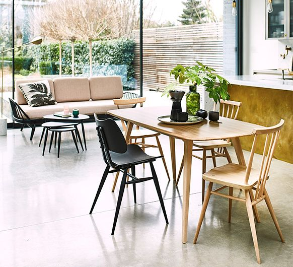 Originals Plank Table Dining Tables Ercol Furniture Decor In