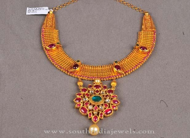 New Gold Necklace Designs, New Model Gold Necklace Collections, New Gold Necklace Collections